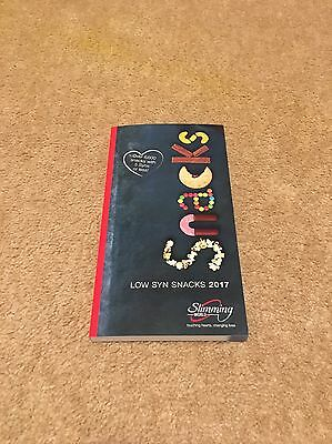 **Brand New** Slimming World Low Syn Snacks Book 2017