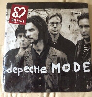 Original Vintage Depeche Mode Official T-Shirt x large-still in packaging - 1993