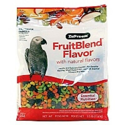 Zupreem Fruitblend Complete Food For Conures/amazons/greys 1.59Kg (3.5.lb)
