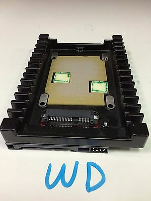 """WD IcePack 2.5"""" to 3.5"""" HD SSD Mount Tray Caddy Sled Apple SAS SATA CONVERTER"""