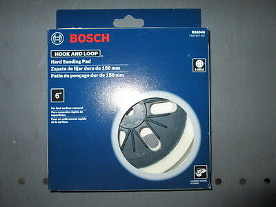 """Bosch Rs6046 6"""" Hard Backing Pad New/unused"""