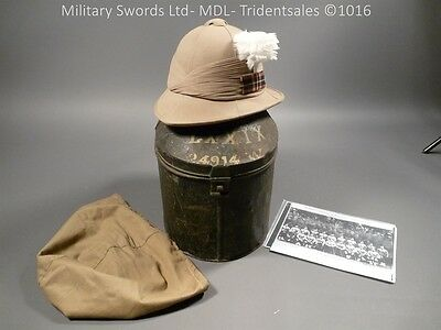 Cameron Highlanders Officer's Wolseley Helmet