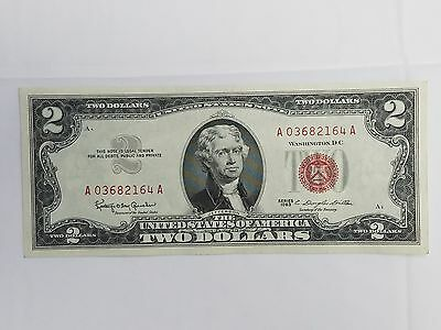1963 Series $2 Bill Red Note UNC