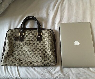 Gucci Bag Briefcase For MacBook Pro/Air With Retina 15/13""