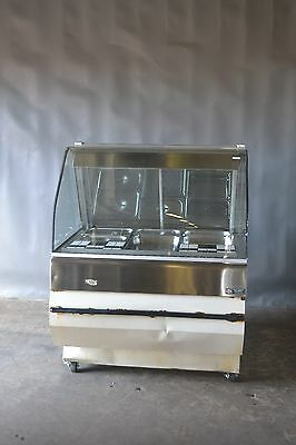 Used HENNY PENNY HMT-3 DELI HOT CASE W/ CURVED GLASS, Excellent Free Shipping!!!