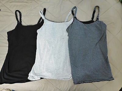 Lot of 3 gilligan o'malley nursing tops size XL extra large