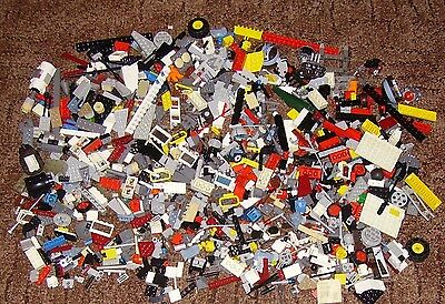 Lot Of Approx 1 Kg Mixed Lego Loose Parts & Pieces From Various Sets - All Sorts
