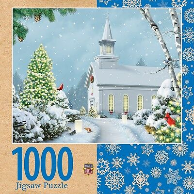 Christmas Eve 1000 Piece Masterpieces Jigsaw Puzzle by Alan Giana