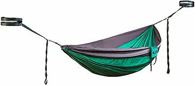Premium Double Camping Hammock By TNH Outdoors with Multi Hitch Straps