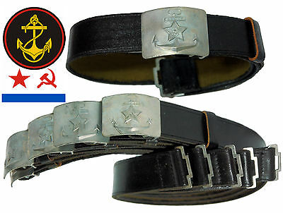 RARE Original Soviet Daily Uniform Belt Marine Corps naval infantry Surplus