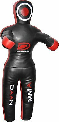"""MMA Grappling Dummy Fighting Standing Position Leather 70"""""""