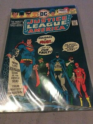 DC Comics JUSTICE LEAGUE OF AMERICA The World's Greatest Superheroes No 122 FN+