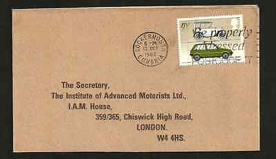 First Day Of Issue - British Motor Cars 1982 - Used Stamp Envelope Posted I.a.m