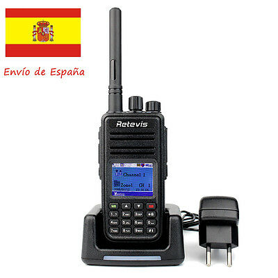 Walkie Talkie Digital 2-Way Radio Retevis RT3 DMR UHF 5W Compatible con Motorola