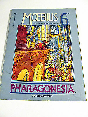 Moebius 6 PHARAGONESIA Epic Graphic Novel The Collected Fantasies of Jean Giraud
