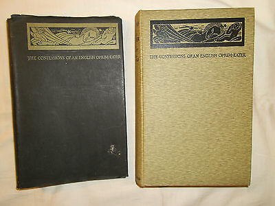 1930 - Confessions of an English Opium-Eater by De Quincey - Sonia Woolf Ills HB