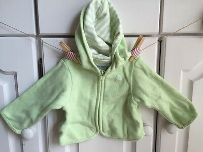 Baby Boys Green Jacket 3-6 Months By The children's place