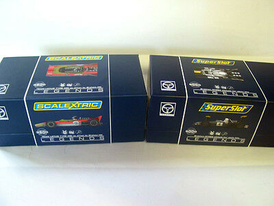 Scalextric Pair C3656A Lotus 49B G Hill V H3702A Brabham Bt26A Jacky Ickx New
