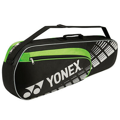 New Collection Yonex 4623EX Performance 3 Badminton Racket Bag (Black-Lime)