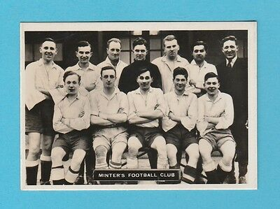 Football - Ardath - Southern Football Team  -  Minter's  F.c. -  1936