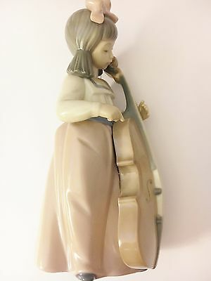 Nao 'Girl with Chello' Porcelain Figurine