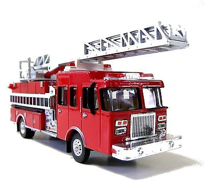 HO 1:87 Scale Die Cast Fire Ladder Truck Model Railroad Trains Layout Walthers A