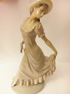 Nao 'Girl in Long Dress' Porcelain Figurine
