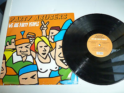"12"" Single Party Abusers We Are Party People"