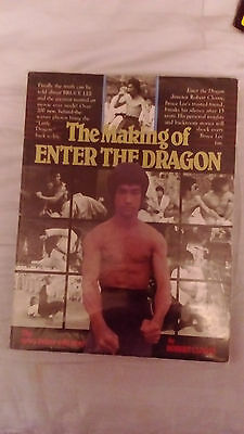Bruce Lee The Making Of Enter The Dragon   Book