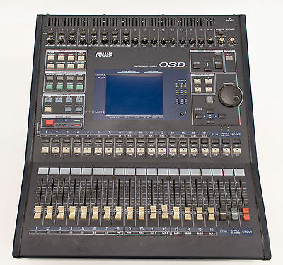 Yamaha 03D Automated Digital Mixer / Mixing Console 26 Inputs and 18 Outputs