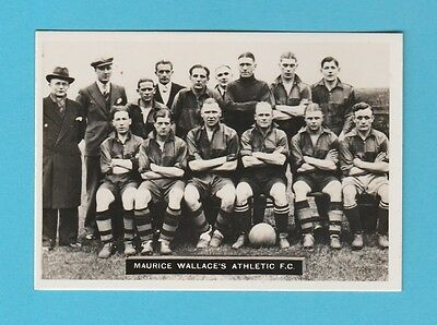 Football - Ardath - Southern Football Team  - Maurice  Wallace's  F.c. - 1936