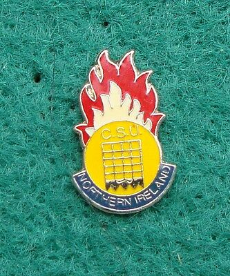 Ministry of Defence Police CIVILIAN SEARCH UNIT NORTHERN IRELAND pin badge RUC