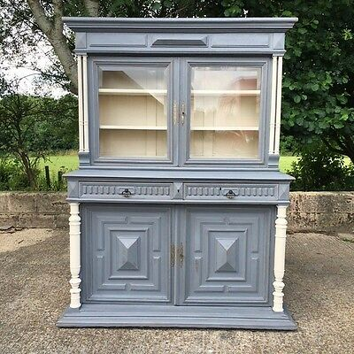Old french oak painted  dresser.