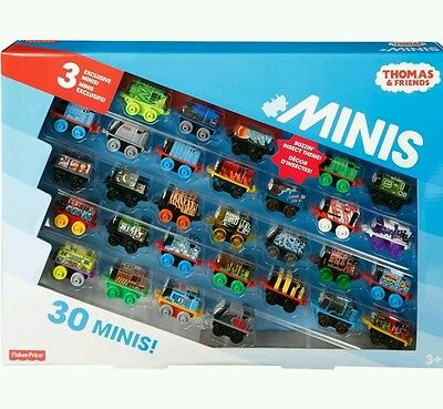 30-Pack Thomas the Train Friends Minis Exclusive Mini Trains Toys Fisher-Price
