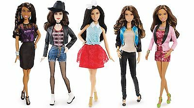 FIFTH HARMONY Set of 5 BARBIE Doll Figures NEW! CAMILA LAUREN DINAH ALLY NORMANI