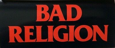 Bad Religion the Process of Belief Rare Promotional Sticker FREE SHIPPING!!!