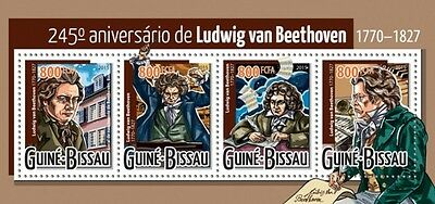 Z08 GB15423a GUINEA-BISSAU 2015 Ludwig van Beethoven MNH ** Postfrisch