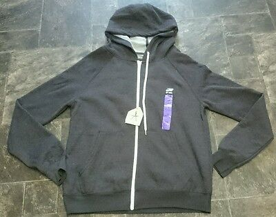 New Atmosphere Grey Zip Up Hooded Top Size 18