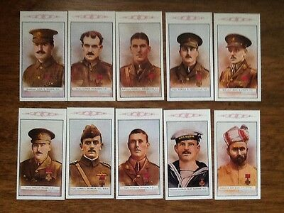 3RD SERIES/ VICTORIA CROSS HEROES ( The Great War) Set of 25 cards.