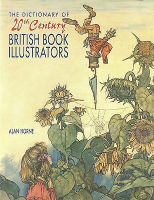 Book-Reference-Dictionary of 20th C. British Book Illustrators-New-Mint