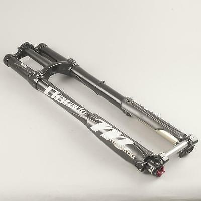 """Used 2014 Manitou Dorado Pro Dual crown downhill fork - 203 mm / 8"""" travel 26in."""