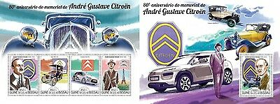 Z08 IMPERFORATED GB15213ab GUINEA-BISSAU 2015 Andre-Gustave Citroen MNH ** Postf