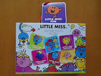 Little Miss Picture Match Puzzle 24 Pieces For Ages 3 And Up Brand New In Box