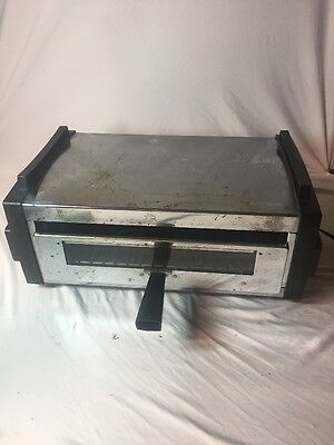 Vintage Toastmaster 5231 Chrome Table Top Flip Over Toaster Oven Broiler
