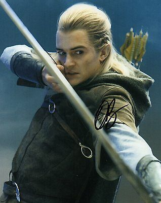 Orlando Bloom Lord Of The Rings Authentic Hand Signed 10-8 Photo