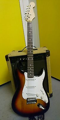 UPDATED Electric guitar And Amp And Tuner