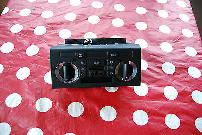 2006  Audi A3  Heater Air Conditioning Control Switch Panel