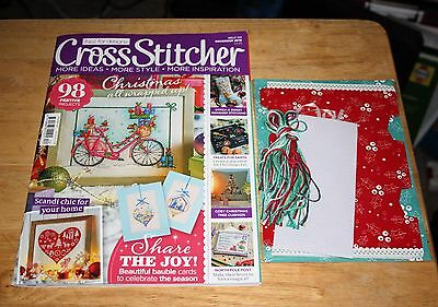 Issue 312 of Cross Stitcher magazine, with free gift.