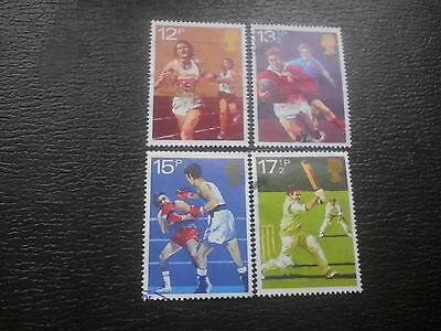 Set of sport stamps 1980