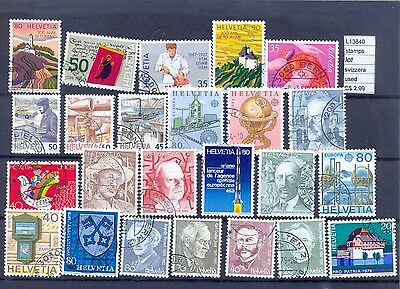 Stamps Lot  Switzerland Used  (L13840)